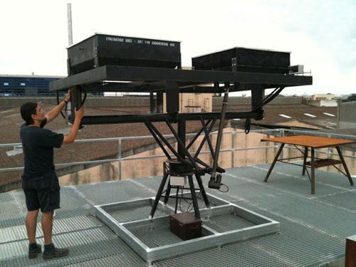 Seguidor solar para pruebas